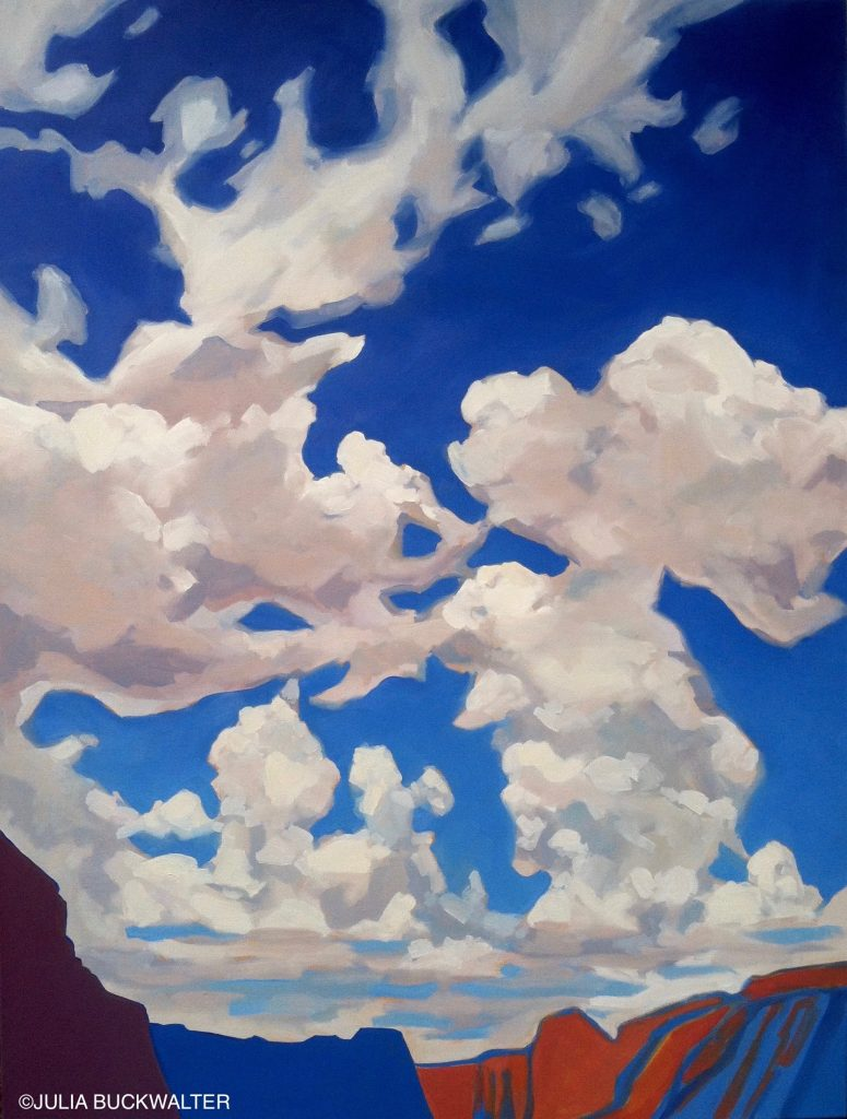 Julia Buckwalter Day with the Clouds