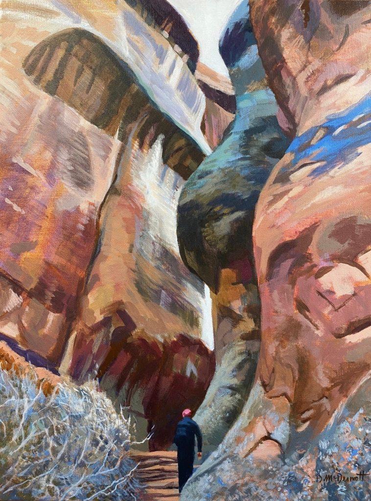 Hallway of Giants by Deborah McDermott
