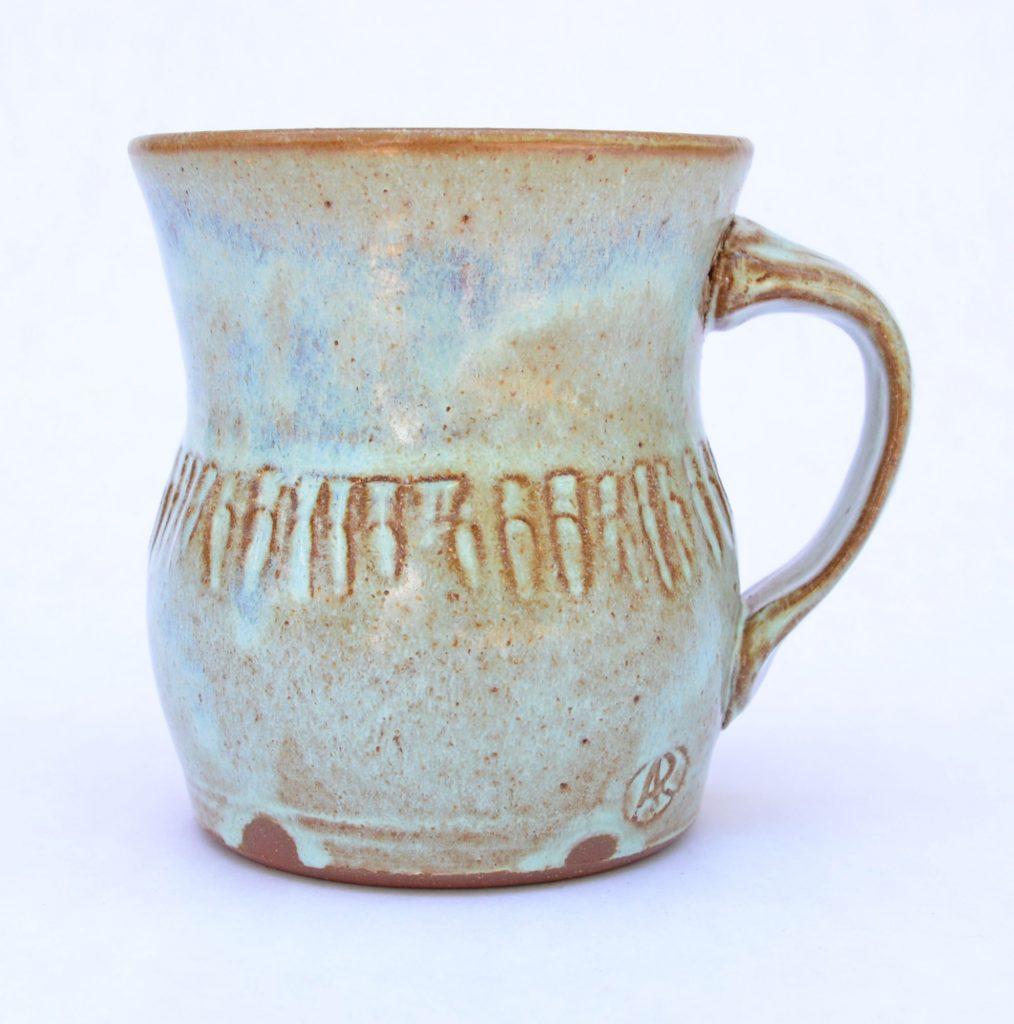 Aaron Rotchadl - Blue Mug
