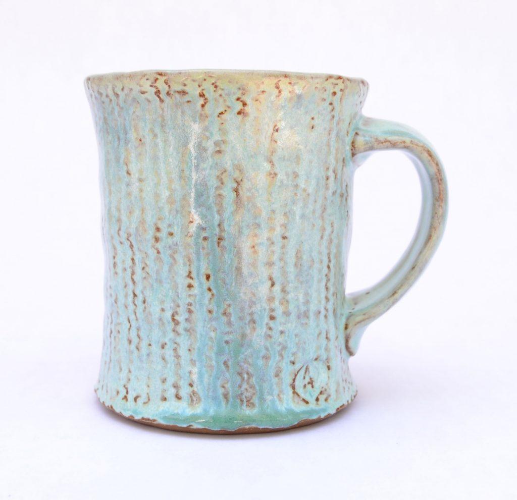 Aaron Rotchadl - Blue Texture Mug