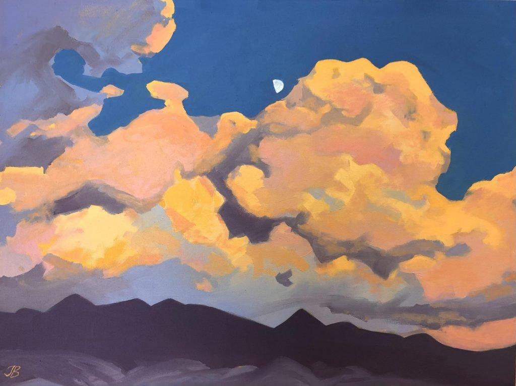 A New World - Julia Buckwalter painting. Moab, Utah.