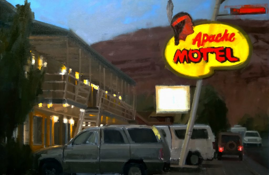 Antonio Savarese - The Apache Motel