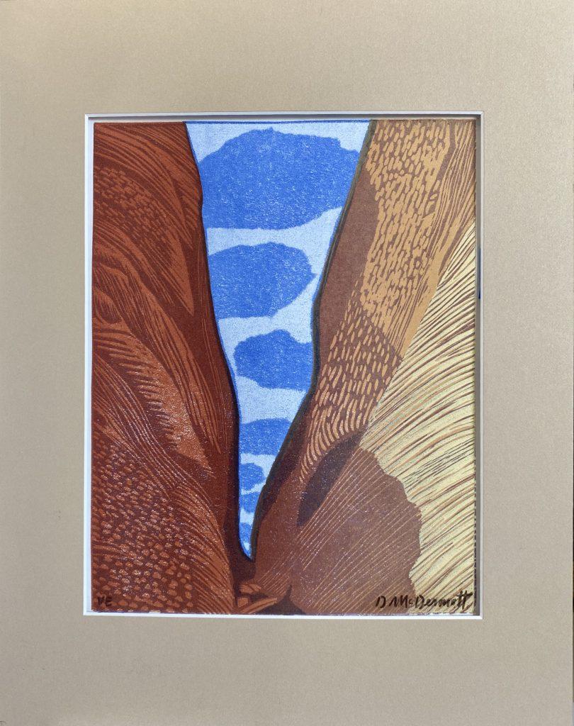 Blue Clouds by Deborah McDermott