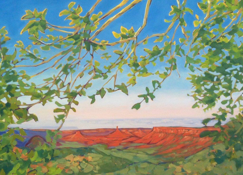 Garden of Eden - Julia Buckwalter painting. Moab, Utah.