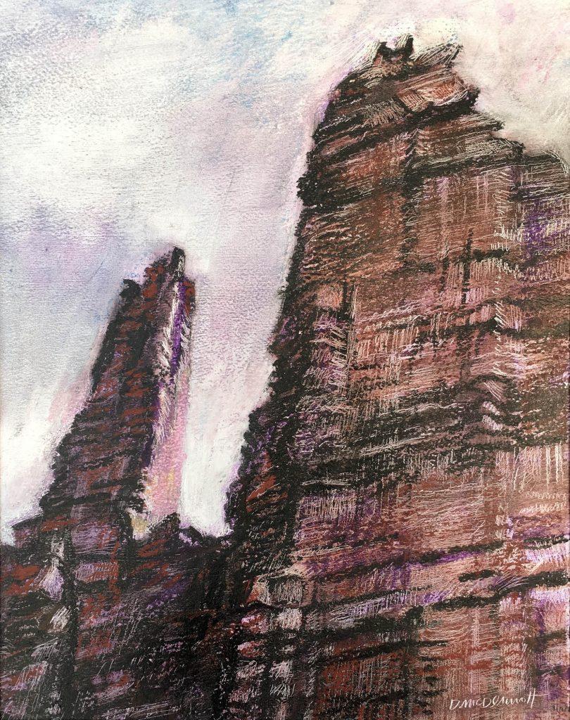 Moenkopi Towers by Deborah McDermott