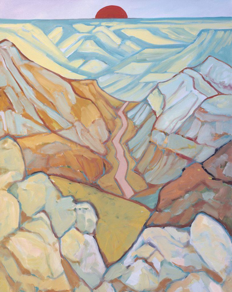 Valhalla - Julia Buckwalter painting. Moab, Utah.