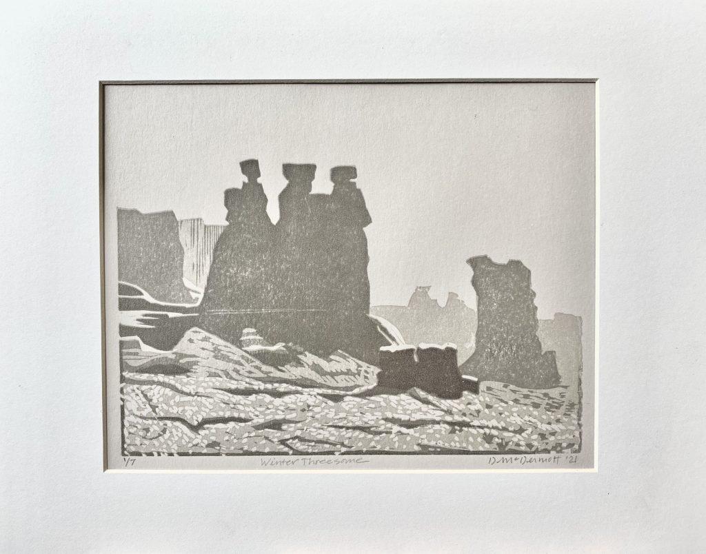 Winter Threesome by Deborah McDermott